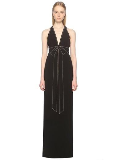 Askılı Uzun Abiye Elbise-Boutique Moschino
